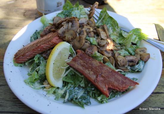 Skyway Bar and Grill: Caesar salad with salmon