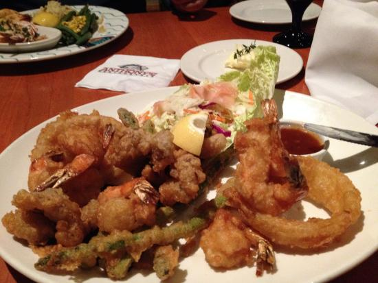 Anthony's Hearthfire Grill - North Point: Scampi in tempura