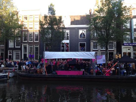 Гей квартал в амстердаме