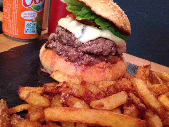 L'Atelier du Burger: Le double chef une tuerie avec le montagnard !