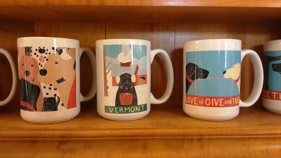 Saint Johnsbury, VT: Dog mugs