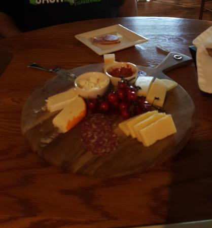 Mill House Inn: evening cheeses