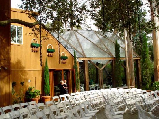 Calamigos Guest Ranch and Beach Club: seats for wedding