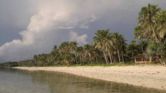 Linapacan, Filipiny: our own kitesurfing resort - all natural