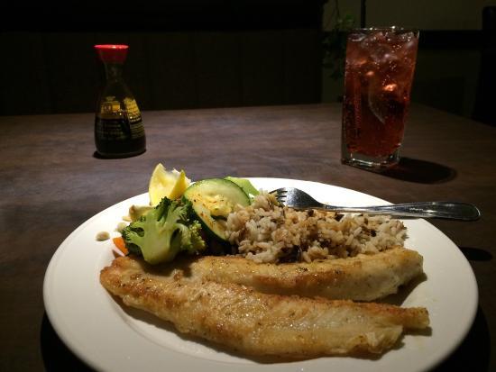 Victoria Inn: Pickeral dinner!