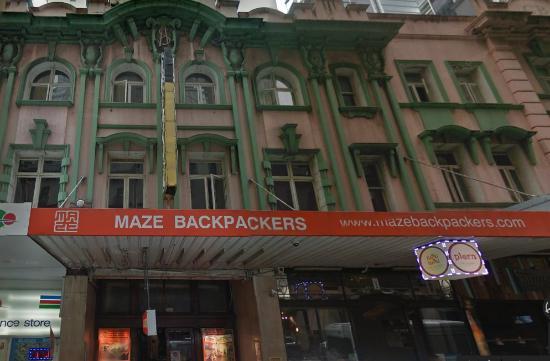 Exterior Del Hostal Picture Of Maze Backpackers Sydney Tripadvisor