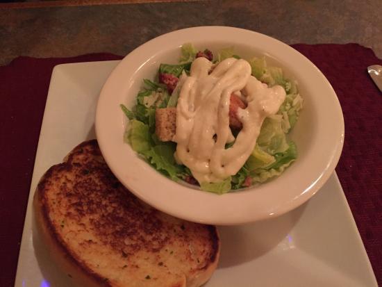 Caesar Salad, Menu options, Dino's Restaurant, Kenora, Ontario