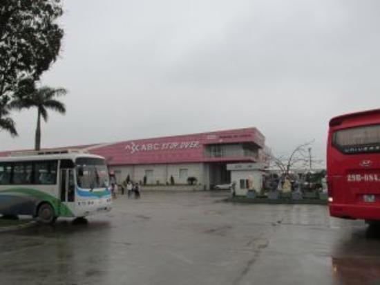 Hai Duong, Vietnam: ハロン湾ツアーの途中で休憩