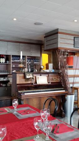 Ile-d'Arz, Frankrig: un aspect de la déco du restaurant