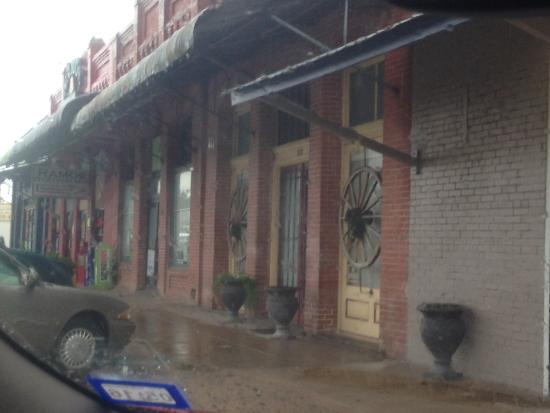 Street view of Relax Inn in Manor, Texas