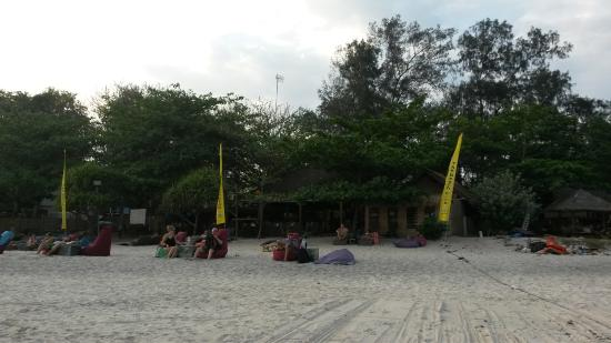 The Beach Club Restaurant and Bar Gili Air: The beach club