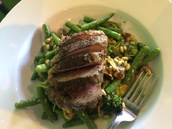 TheLimeRoom : Holy moly! Kawakawa herb crusted lamb... Nothing short of amazing #foodporn 💖