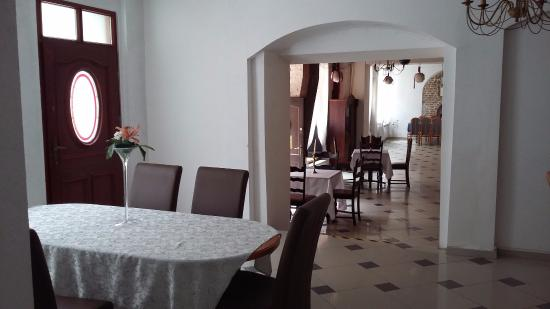 Reszel, Polonia: Den flotte spisesal med fremragende mad
