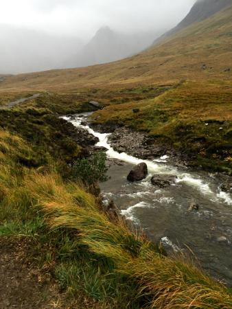 The Lovat, Loch Ness: the fairy pools on Skye