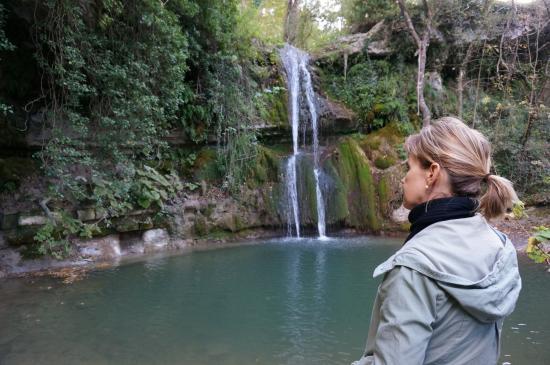 La Zuppa Inglese B&B: Beautiful waterfall for swimming