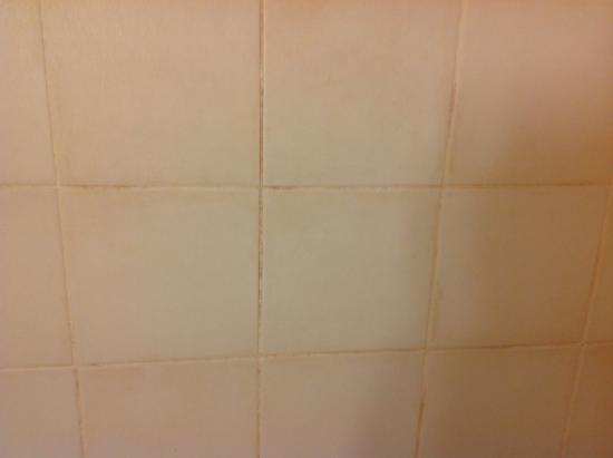Campanile Honfleur - La Rivière Saint Sauveur : Carrelage de la salle de bains
