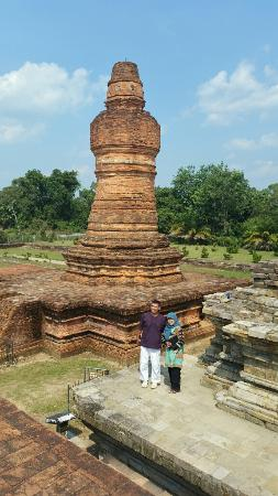 Riau Islands Province, Indonesia: One of the stupa