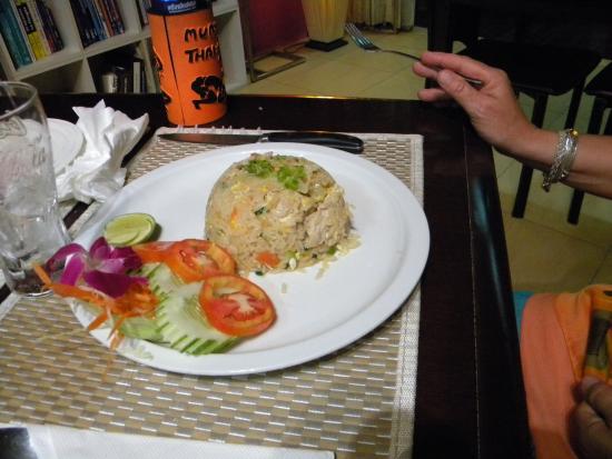 Papillon Bar & Restaurant : plat