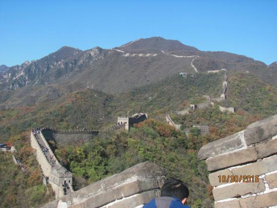 Shuifu County, China: The long and winding wall