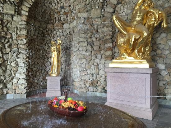 Fourth Century Company - Day Tours: Peterhof inside workins of the fountains