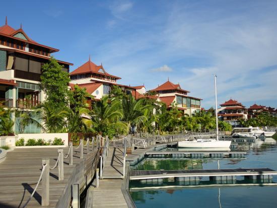Eden Island, Seychellene: Вид из бара