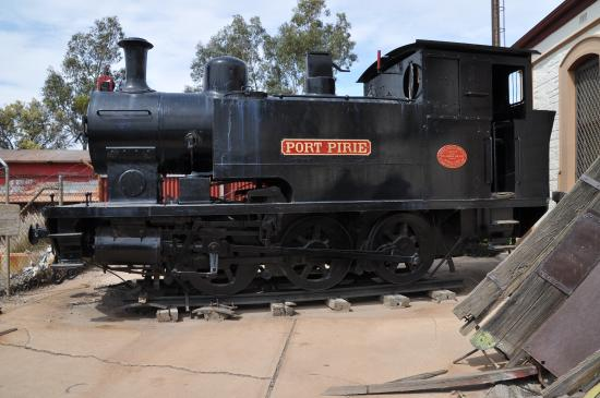 Port Pirie, Australien: Original steam locomotive