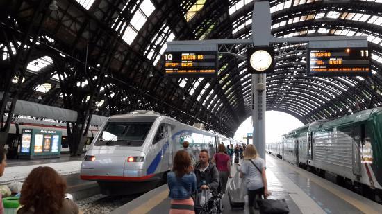 Trenitalia - Sala Blu di Milano