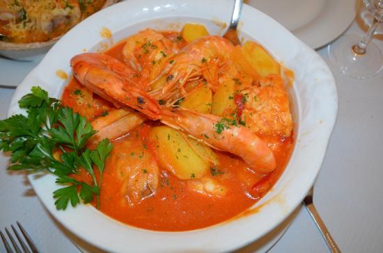 Restaurant de L'Esplande : la bouillabaisse portugaise ...un régal