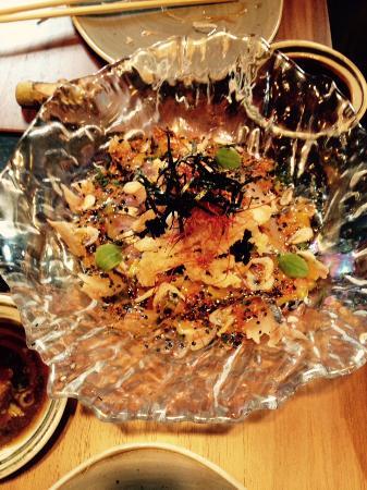 Uno de los platos de comida nipona picture of koi for Koi japones