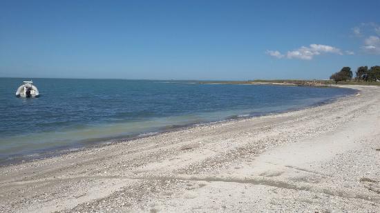 Carmen de Patagones, Argentina: Playa de Los Pocitos