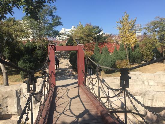 People Park of Qinhuangdao : Bridge in the park...