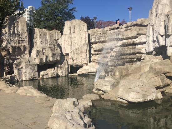 People Park of Qinhuangdao : Waterfall...
