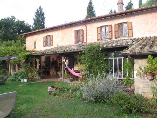 Casale Hortensiae: A casa