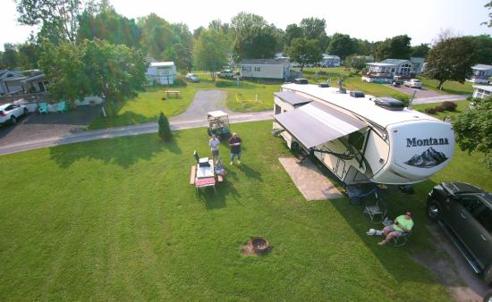 South Hero, Vermont: Our site . 40' Montana