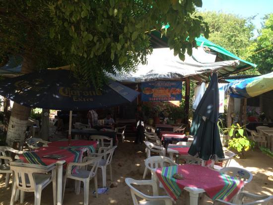 Don Pablo La Palapa de Carrasco: Le restaurant Don Pablo sur la plage