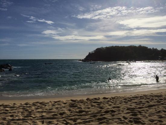Don Pablo La Palapa de Carrasco: Playa Manzanillo de Puerto Escondido