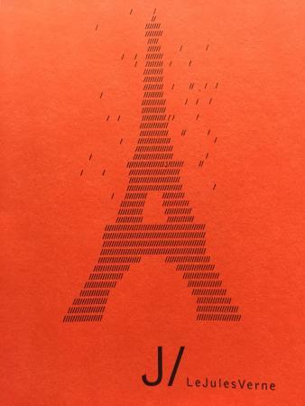 Le Jules Verne: Menu Cover