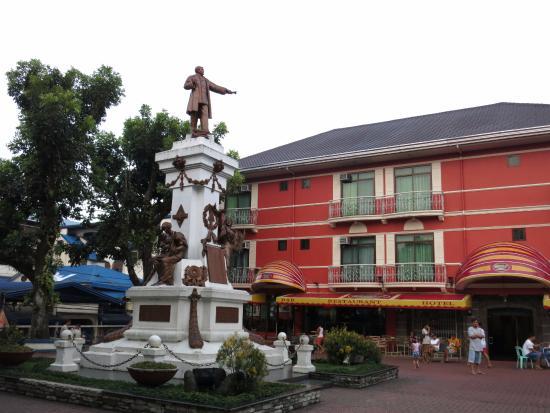 Patio Rizal Hotel Facade Of