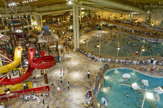 Bear Track Landing - Picture of Great Wolf Lodge Grand Mound