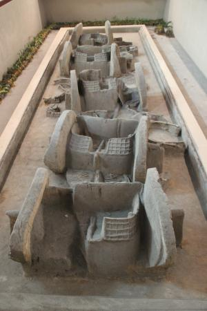 Sanmenxia, China: Warring States Chariot Burial Near Baolun Pagoda