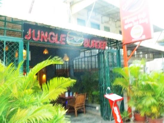 Jungle Burger front