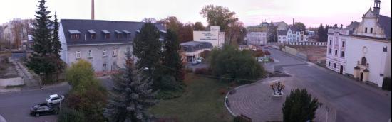 Krnov, Tschechien: vista dalla camera