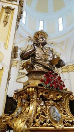 Parocchia di San Luca Evangelista: Busto Argenteo del Santo Patrono