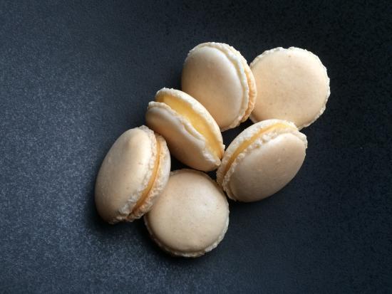 "Toi et Moi : Macaron met citroenganache "" fait maison """