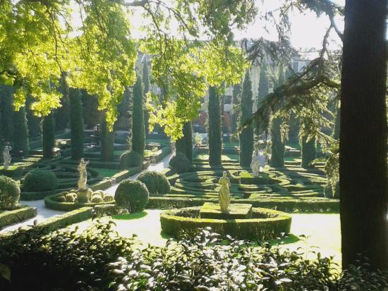 View from the top bild fr n palazzo giardino giusti for B b giardino giusti verona