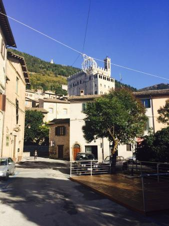 Fabiani Restaurant: Gorgeous day in Gubbio!