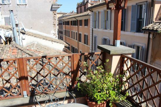 Residenza Canali ai Coronari: view from terrace