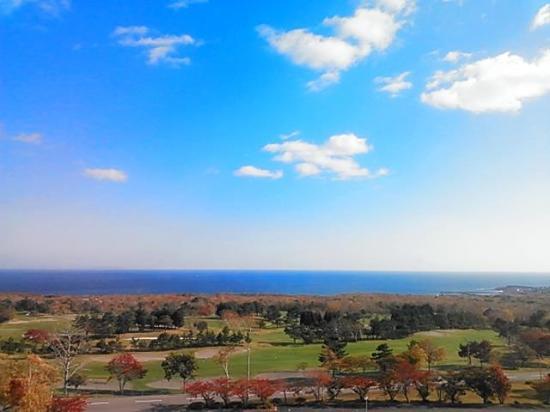 Minami Hokkaido Shikabe Royal Hotel: 部屋からの景色