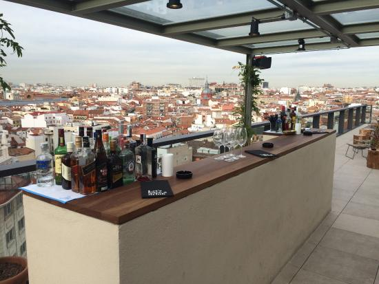 Rooftop Bar Picture Of Dear Hotel Madrid Madrid