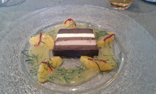 Л'Иль-Бушар, Франция: Dessert au 5 chocolats